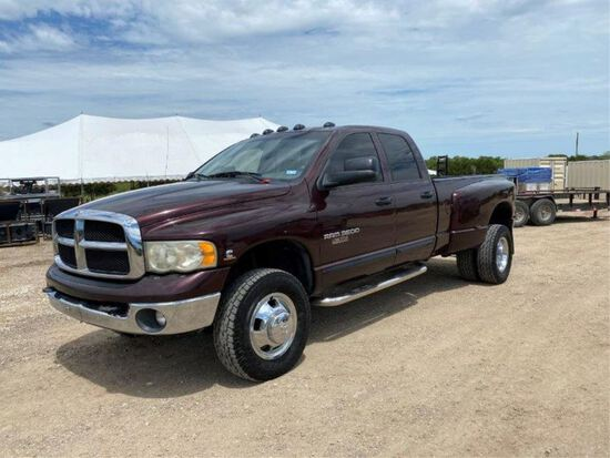 *2004 Dodge Ram 3500 Dually 4WD Turbo