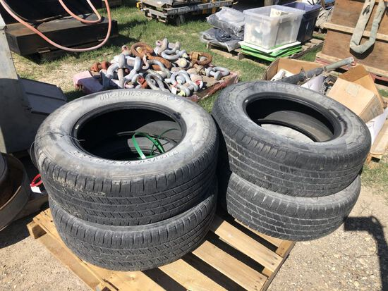 4pc Hankook Dynapro P245 70 R17 One Owner