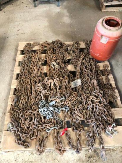 pallet of Transport Chains