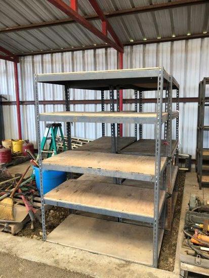 4pc Metal Shelves