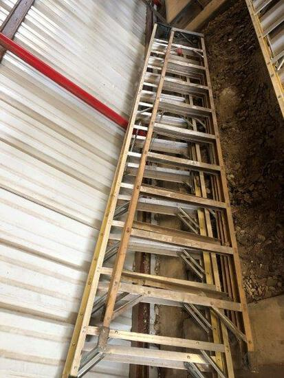 2pc Ladders 12' & 10' Made in USA