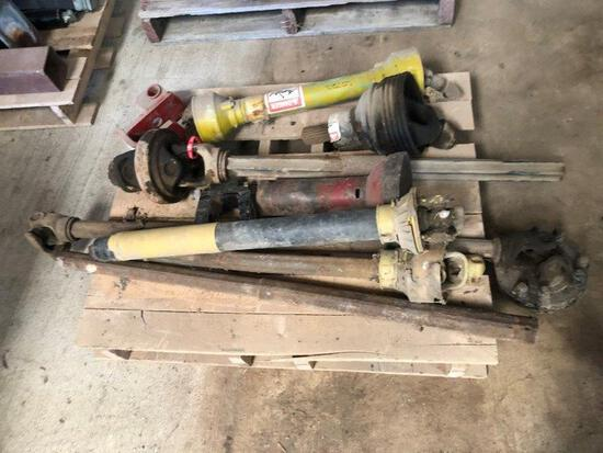 Pallet of Truck Drive Shafts