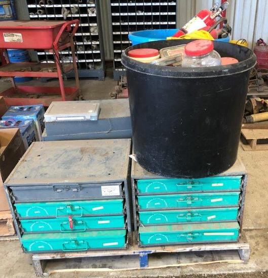 Pallet of K&N Parts, Tool Boxes, First Aid Kits