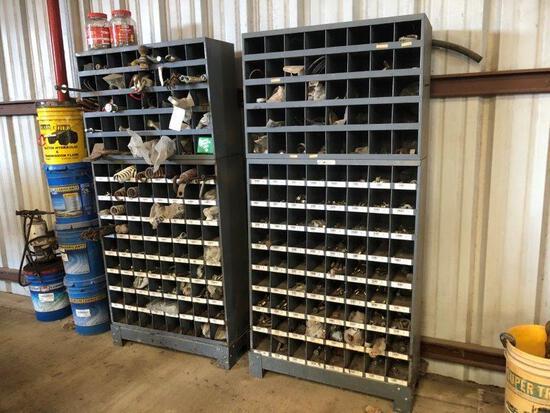 2pc Parts Cabinet