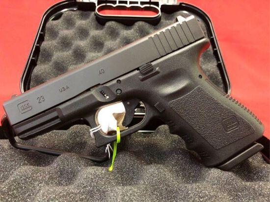 ~Glock 23, 40cal Pistol, ABNF600