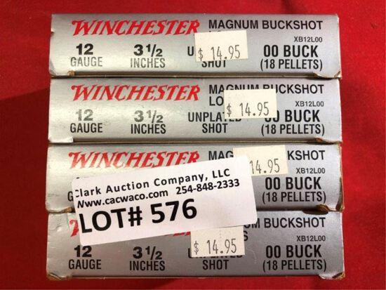 5rds Winchester Super X 12ga Shotgun Shells