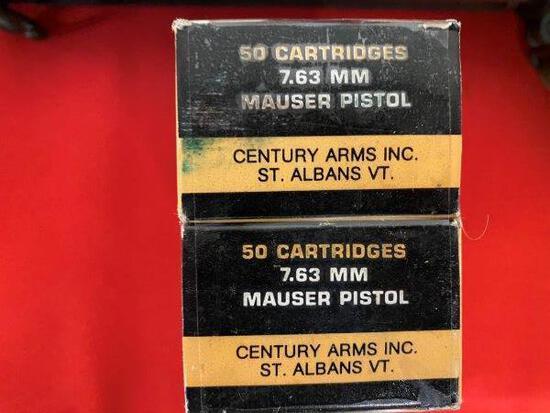 RARE - Factory 7.63 Mauser Broomhandle