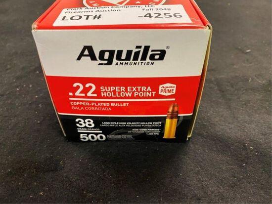 500rds Aguila 22 HP