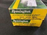 300 Win Mag - Remingto - 150gr - Core-Lokt