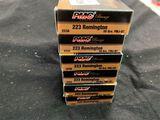 20rds PMC Bronze 223rem 55gr FMJ