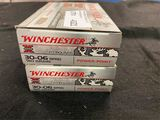 20rds Winchester 30-06 sprg 180gr