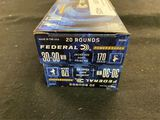 20rds Federal 30-30win 170gr Jacketed Soft Point