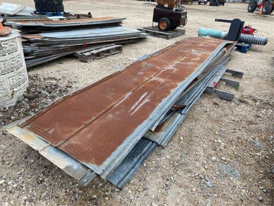 Pallet of Used Tin
