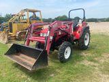 Nor Trac 35XT w/Koyker 160 Loader & Bucket 4WD