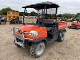 Kubota RTV900 Power Steering 4x4 Diesel