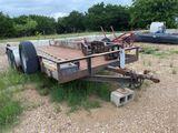 18' Tandem Axle Utility Trailer