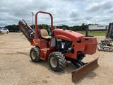 Ditch Witch RT45 w/H3145 Trencher Attachment