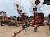 H&S 10 Wheel Hay Rake