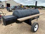 Portable BBQ Pit- Bumper Pull
