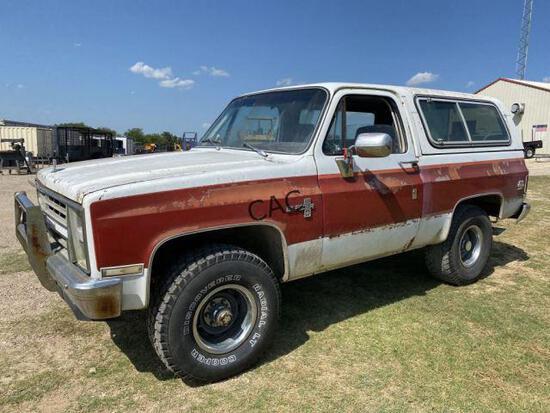 *1983 Chevrolet Blazer 5K