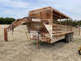 16' Neckover Gooseneck Cattle Trailer