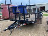 20' Bumper pull Irrigation Utility Trailer
