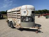 16' WW Livestock Trailer
