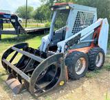 Scat Trak 1300C Skid Steer w/Hydra Rake