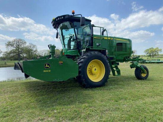John Deere W260 w/Starfire 600 Hay Cutter