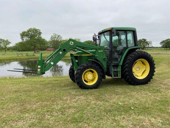 John Deere 6410 Tractor w/640 Loader 801 hrs