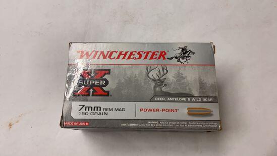 40rds Assorted 7mm Rem Mag 140gr/160gr