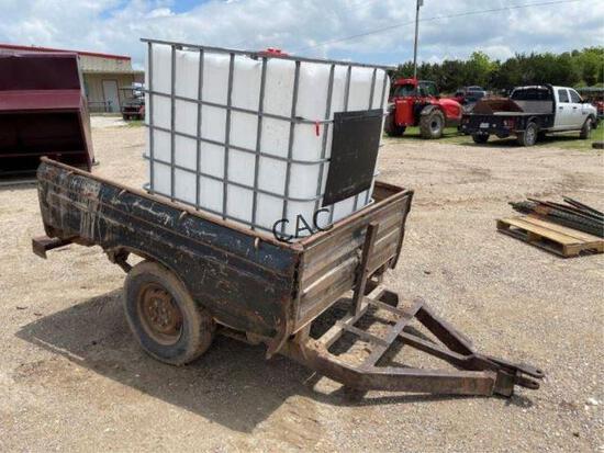 Water Tank in Truck Bed Trailer