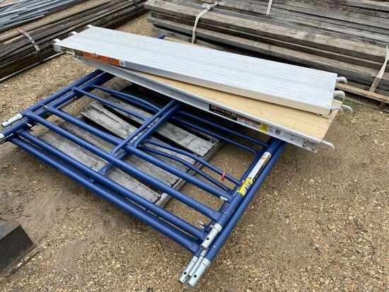 """5pc 7'x19"""" All Aluminum Platform by Metal Tech &"""