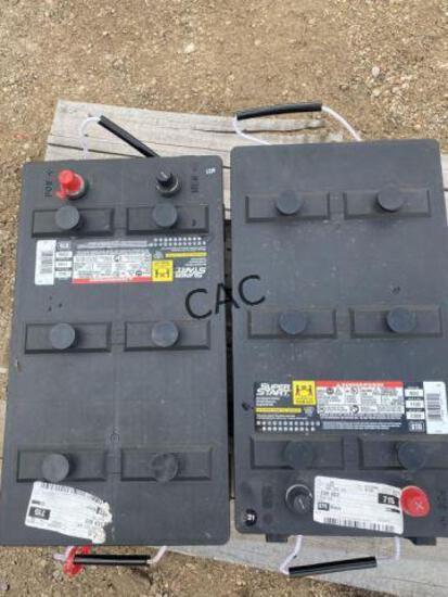 2pc Super Start 8D2 Batteries