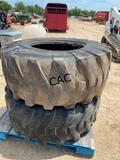 2pc 19.5L-24 Tires