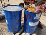 2pc 55gal Drums Full of Smoking Pellets