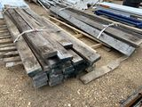 48pc True 2X6X10.5 Reclaimed Oak Timbers