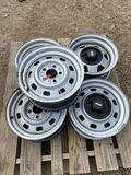 12pc Jeep Rims10-steel 2-Aluminum