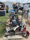 4pc Edger, tiller & Lawn Boy Cast Aluminum Deck
