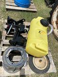 Kubota Mounting hardware, Isuzu ehaust pipe&