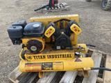 Titan Air Compressor 535hp 8 gal Portable