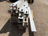 Pallet of 4x4 & 5x5 Posts & Planks for Vinyl Fence