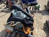 Pallet w/ Air Compressor, Blowers, Trimmer