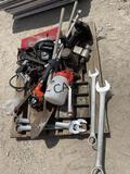 Asst Tools- Wrenches, Nail Guns, Saws, Sprayers...