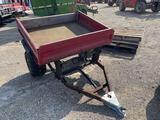 Pull Behind Dumping Cart