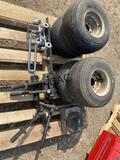 Tile Bed Trailer, Jacis, 4pc Tires, Glass Carriers