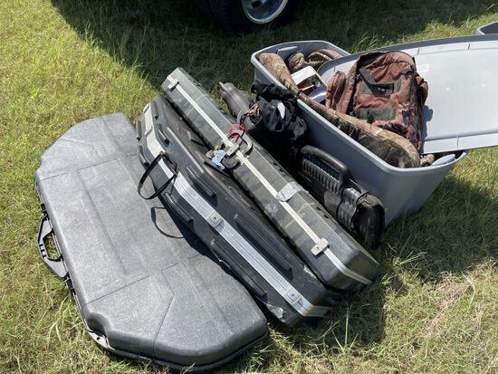 Asst Gun & Rifle Cases & Hunting Gear