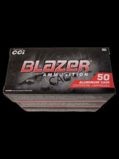 50rds Blazer 9mm Luger 115gr FMJ Aluminum