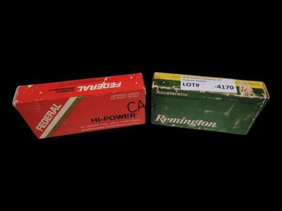 40rds Assorted 30-30 Winchester 55gr/150gr