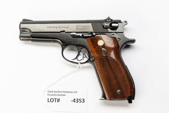 S&W 39-2 Pistol 9mm CTG SN#A149047